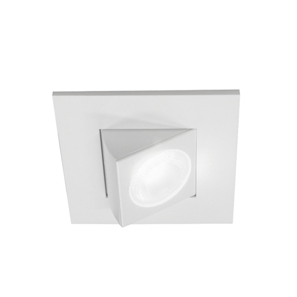 Dqr2 Aa Adjule Square Led Downlight Nicor Lighting