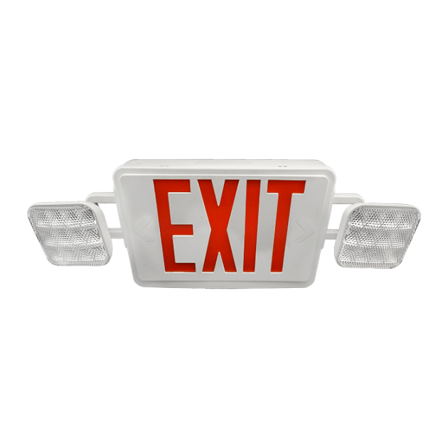 ecl1 led emergency exit sign combo nicor lighting rh nicorlighting com