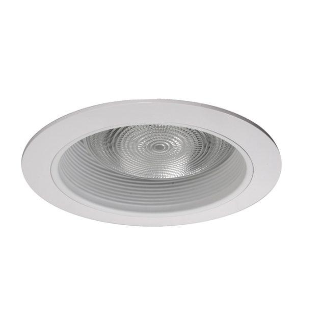 17510 6 White Recessed Baffle Trim Nicor Lighting